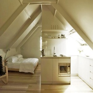 Loft conversion, mezzanine floors and attic rooms