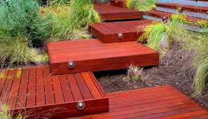 ZEN style timber decking by STJJoinery